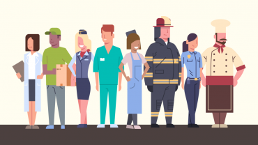 Essential Service Workers – Keeping Us Going